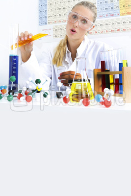 Chemikerin (mit whitespace)