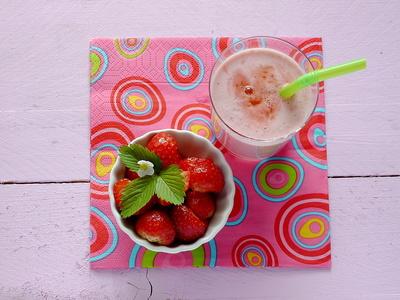 Erdbeer-Mix . . .