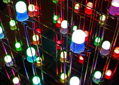 Farbige Leuchtdioden