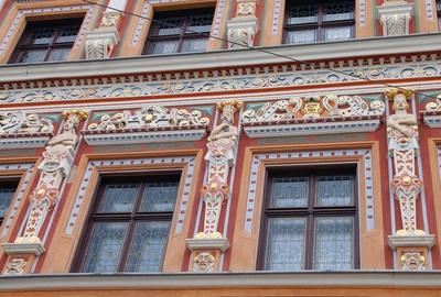 Erfurter Fassadenansichten 03