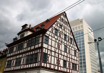 Gegensätzliche Architektur