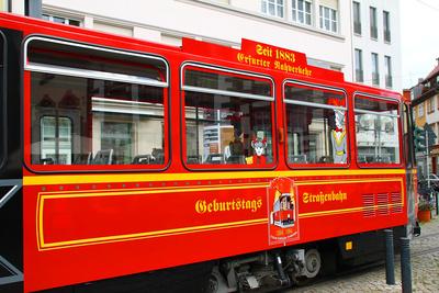 Geburtstags-Strassenbahn
