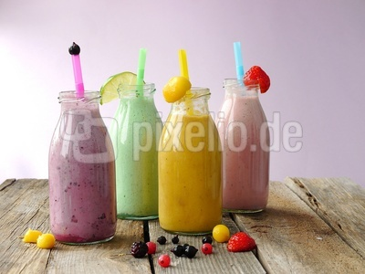 Sommer-Smoothies . . .