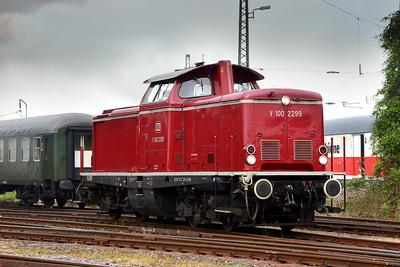 Diesellok V100 2299