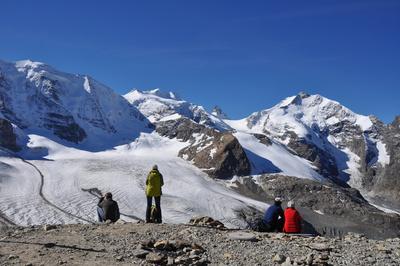 Hochalpen in Graubünden / Schweiz