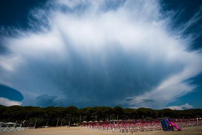 Follonica - am Strand