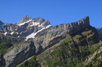 Altmann und vorgelagerte Kletterberge