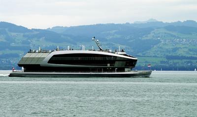 Solarschiff auf dem Bodensee