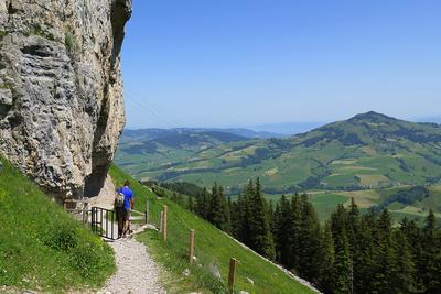 Sicht ins Appenzeller Flachland
