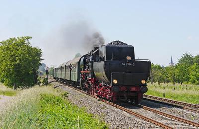 Mit dem Dampfzug durch die Pfalz