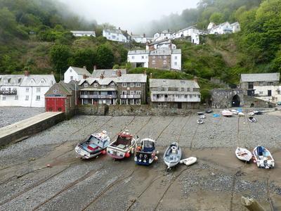 Cornwall: Clovelly 1
