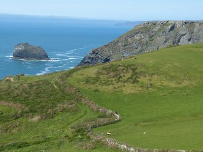 Cornwall-Landschaft 1