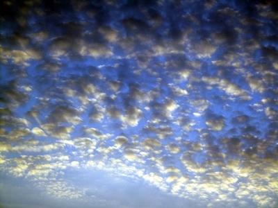Wolken - hell, mittel, dunkel
