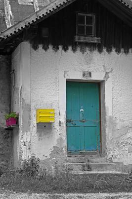 Unbewohntes altes Haus