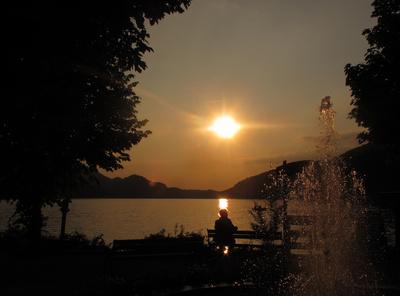 Romantische Stunden am Fuschl-See