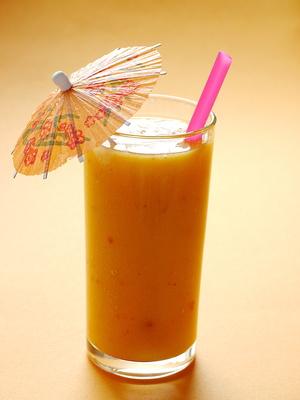 Mango-Aprikosen-Smoothie . . .
