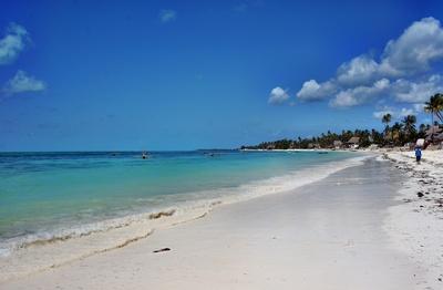 Am Strand von Jambiani/Sansibar