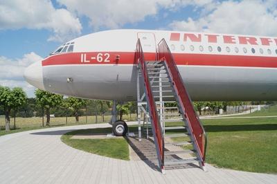 Eine Iljuschin 62 der Interflug