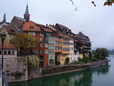 Laufenburg im Aargau (CH) am Hochrhein 2