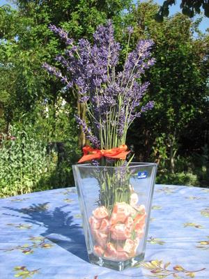 Kostenloses foto sommerliche dekoration mit lavendel - Dekoration lavendel ...
