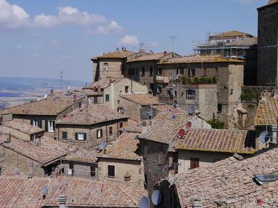 Dächer von Volterra
