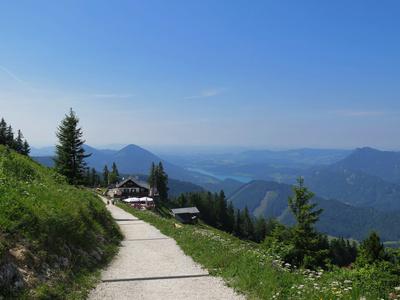 Schöne Wanderwege auf dem Zwölferhorn