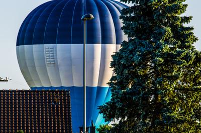 Tiefflieger Ballon