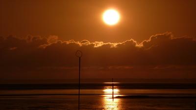 Abendsonne in Norden-Norddeich