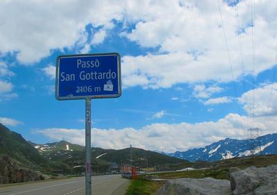 Passo San Gottardo (2106 m)