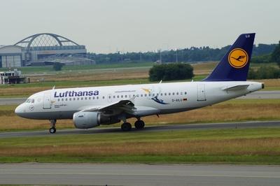 Lufthansa - Airbus A319-100 mit Sonderlackierung