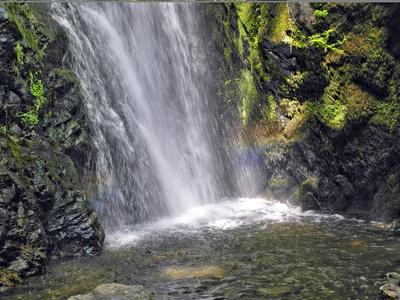 Regenbogenwasserfall