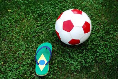flip-flop Fußball