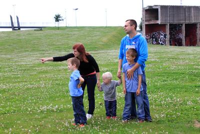 Glückliche Familie 1