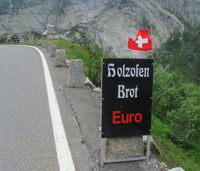 Sogar Euro kann man hier kaufen!