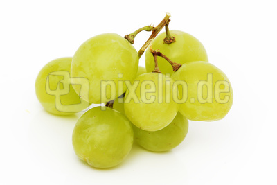 ein paar Weintrauben