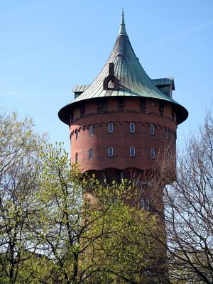 Der alte Wasserturm in Cuxhaven (1)