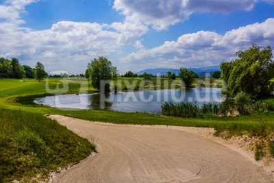 Golfplatz im Elsass 2