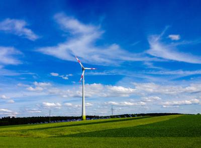 Saubere Landschaft - saubere Energie