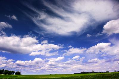 Weite Wolkenwelt