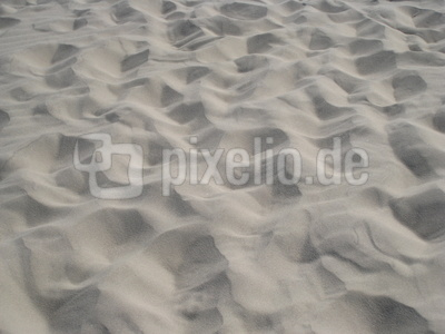 Sand der Råbjerg Mile Wanderdüne