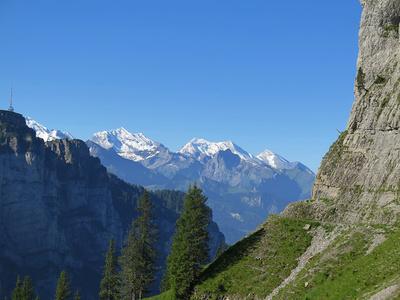 Mönch, Jungfraujoch, Jungfrau