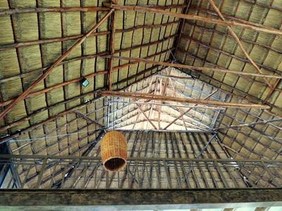 Mexikanische Dachkonstruktion