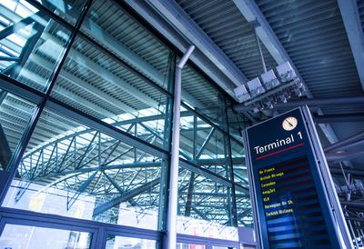 Abflug Terminal 1