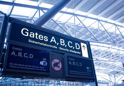 Gates und Sicherheitskontrolle
