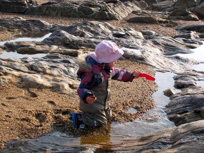Wasser und Sand - mehr braucht es nicht...