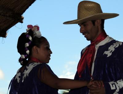 Mexikanisches Tanzpaar