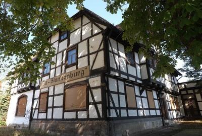 Fachwerkhaus in Blankenburg