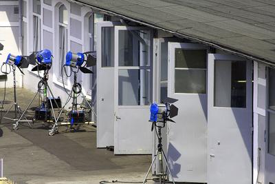 Beleuchtung bei Filmaufnahmen / Dreharbeiten