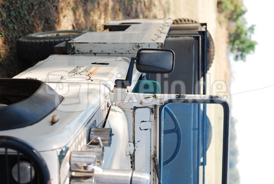 Safari-Fahrzeug