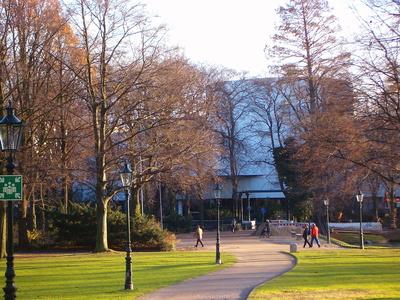 Düsseldorf Schauspielhaus mit Hofgarten